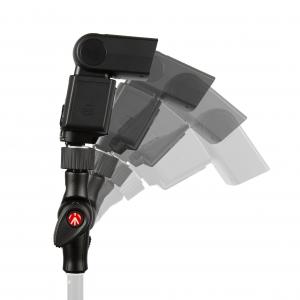 Manfrotto Smart Tilt suport umbrela cu patina pentru blitz3