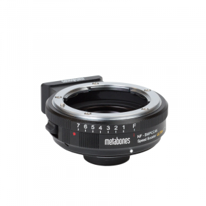 Metabones adaptor Nikon G la montura BMPCC4K Speed Booster Ultra 0.71x [2]