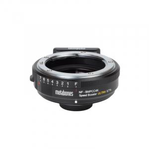 Metabones adaptor Nikon G la montura BMPCC4K Speed Booster Ultra 0.71x [3]