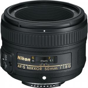 Nikon 50mm f/1.8G Obiectiv AF-S NIKKOR0