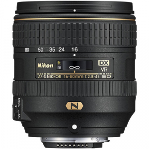 Nikon AF-S DX NIKKOR 16-80mm Obiectiv Foto DSLR f/2.8-4E ED VR2