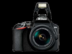 Nikon D3500 Aparat Foto DSLR DX Kit Obiectiv Nikkor AF-P 18-55mm VR4