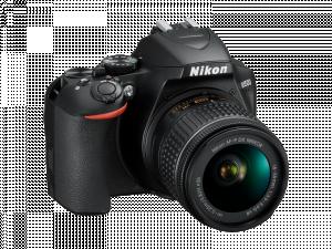 Nikon D3500 Aparat Foto DSLR DX Kit Obiectiv Nikkor AF-P 18-55mm VR11