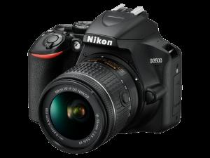 Nikon D3500 Aparat Foto DSLR DX Kit Obiectiv Nikkor AF-P 18-55mm VR10