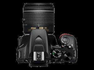 Nikon D3500 Aparat Foto DSLR DX Kit Obiectiv Nikkor AF-P 18-55mm VR2