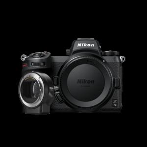 Nikon Z 7II Aparat Foto Mirrorless 45.7MP Video 4K Wi-Fi Body cu FTZ0