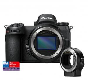 Nikon Z6 Aparat Foto Mirrorless 24.5MP + Adaptor FTZ [0]