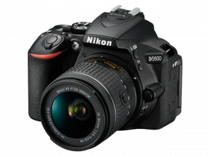 Nikon D5600 Aparat Foto DSLR DX 24.2MP Kit Obiectiv Nikkor AF-P 18-55mm VR5
