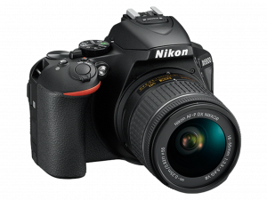 Nikon D5600 Aparat Foto DSLR DX 24.2MP Kit Obiectiv Nikkor AF-P 18-55mm VR2