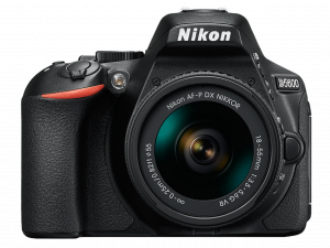 Nikon D5600 Aparat Foto DSLR DX 24.2MP Kit Obiectiv Nikkor AF-P 18-55mm VR0