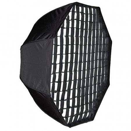 Octobox cu grid montura Bowens 120 cm [0]