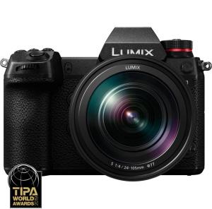 Panasonic Kit Aparat Foto Lumix S1 24MP cu Obiectiv 24-105mm F40