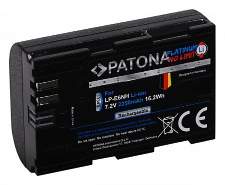 Patona Platinum LP-E6NH acumulator pentru Canon R [1]