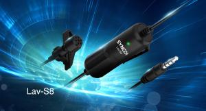 Synco S8 lavaliera cu fir 8m pentru camere, smartphoone, tablete sau recordere [7]