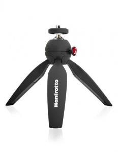 Manfrotto Kit pentru Vlogger LED8 Minitrepied cu lavaliera2