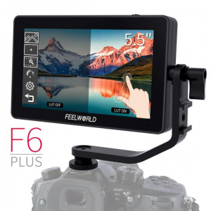 Feelworld FS6 Plus monitor video 5.5 inch TouchScreen 3D LUT 4K HDMI 0