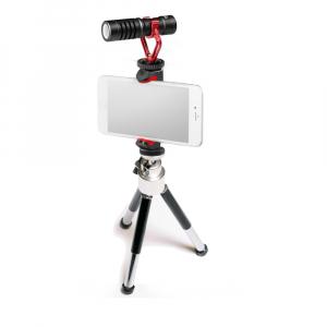 Primaphoto Kit trepied cu microfon si prindere pentru Vlogging1
