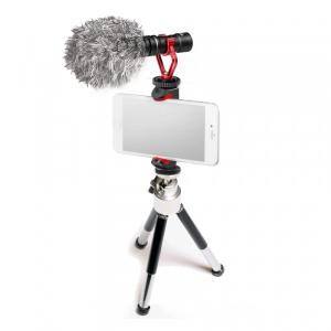 Primaphoto Kit trepied cu microfon si prindere pentru Vlogging
