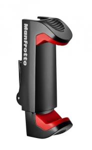 Primaphoto suport smartphone cu minitrepied si LED 3 pentru vlogging cu lavaliera4
