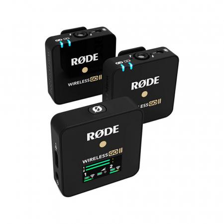 Rode Wireless GO II Sistem Microfon Wireless Dual Digital Kit cu 2 Transmitatoare