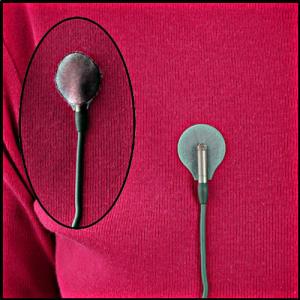 Rycote sticker lipici microfon lavaliera gri [5]