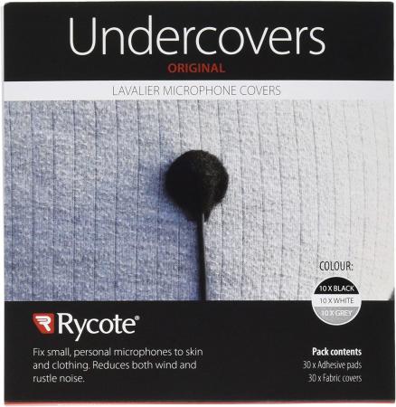 Rycote sticker undercover lavaliera negru gri alb [0]
