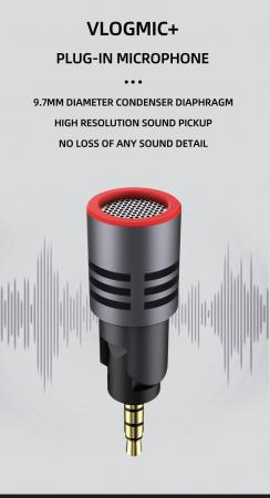 SabineTek VlogMic + Addon microfon smartphone2