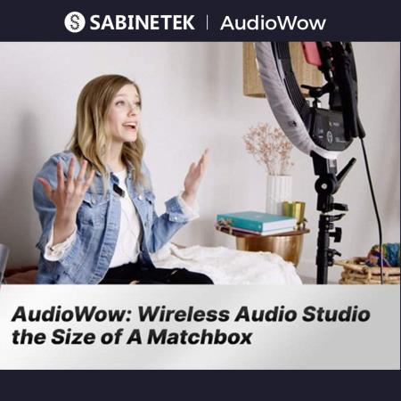 Sabinetek Audiowow Microfon Wireless [3]