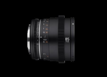 Samyang 85mm T1.5 VDSLR MK2 Montura Sony E [1]