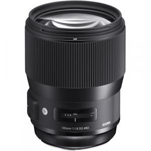 Sigma 135mm Obiectiv Foto DSLR f1.8 DG HSM ART Canon cutie alba1