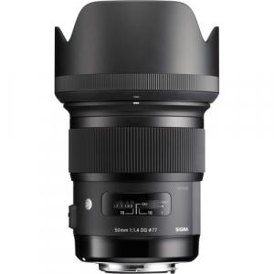 Sigma 50mm Obiectiv Foto DSLR f1.4 DG HSM ART pentru aparate Sigma, Cutie alba [1]