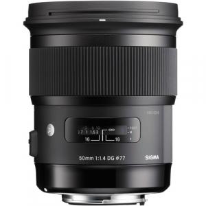 Sigma 50mm Obiectiv Foto DSLR f1.4 DG HSM ART CANON2