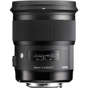 Sigma 50mm Obiectiv Foto DSLR f1.4 DG HSM ART pentru aparate Sigma, Cutie alba [2]