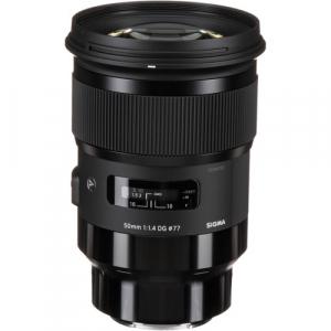 Sigma 50mm Obiectiv Foto Mirrorless f1.4 DG HSM ART SONY E2