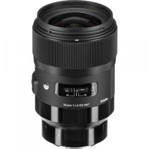 Sigma Obiectiv Foto Mirrorless 35mm f1.4 DG HSM ART SONY E (FE)3