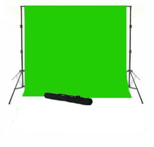 Sistem portabil cu cromakey green 3x3.5m si husa0