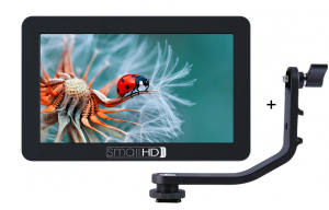 "SmallHD Kit Monitor Focus 5"" HDMI Touchscreen cu brat de prindere0"