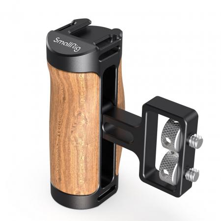 SmallRig 2913 Mini maner lateral din lemn [0]