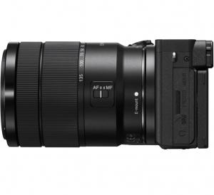 Sony Aparat Foto Mirrorless Kit Alpha A6600 24.2 MP cu Obiectiv 18-135mm 4K Negru1
