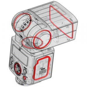 Sony HVL-F45RM Wireless Radio blitz foto pentru Sony [6]