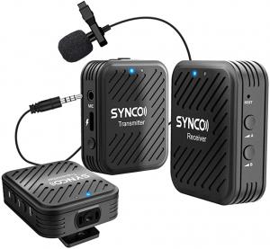 Synco G1(A2) Lavaliera Wireless Dubla [0]