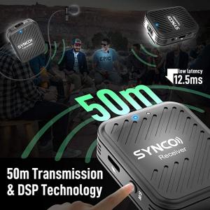 Synco G1(A2) Lavaliera Wireless Dubla [6]