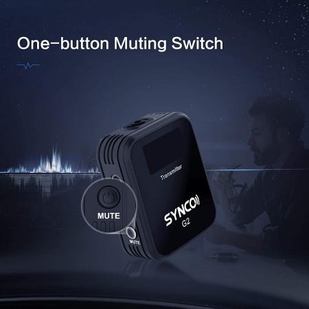 Synco G2 (A1) Lavaliera Wireless cu microfon incorporat [9]