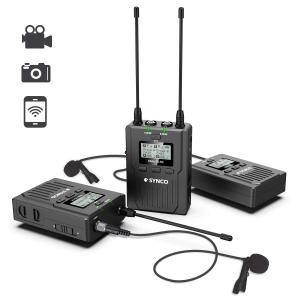 Synco Lavaliera Wireless WMic-T2 cu Transmitter dual [0]