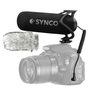Synco Mic-M2 microfon dedicat camerelor foto DSLR, Mirrorless, Smartphone [0]