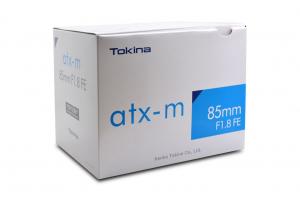 Tokina atx-m 85mm f/1.8 FE obiectiv montura Sony E3