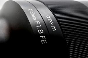 Tokina atx-m 85mm f/1.8 FE obiectiv montura Sony E2