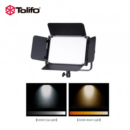 Tolifo GK-S36B Lampa Video LED RGB Bicolor 360 [6]