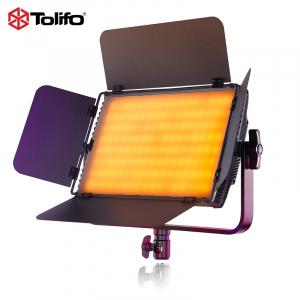 Tolifo GK-S60 LED Bicolor/RGB cu softbox si stativ [4]