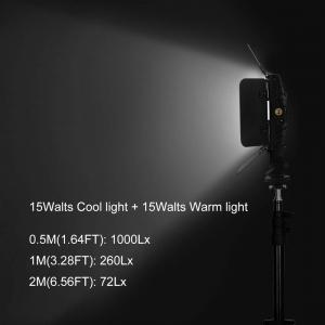 Tolifo PT-15B PRO II Lampa LED 144 Bicolor cu stativ5
